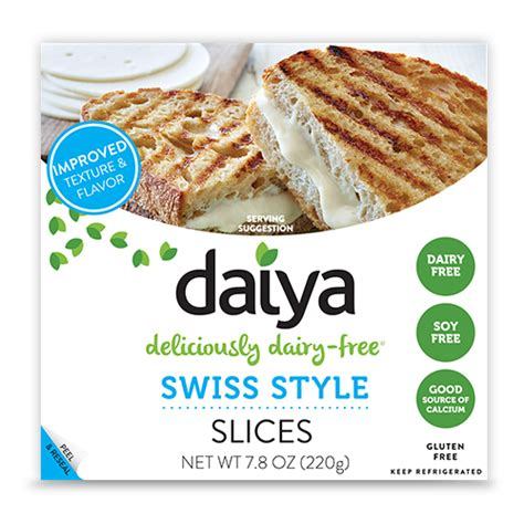 Plant-Based Swiss Style Slices | Daiya Foods, Deliciously