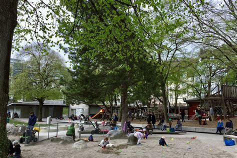 These playgrounds in Zürich are an outdoor heaven for kids